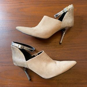 Kenneth Cole Reaction Ankle Strap Booties Size 9